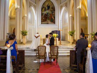 El matrimonio de Ángela y Cristóbal 2