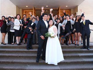 El matrimonio de Bastian  y Sandra 1