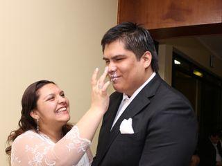El matrimonio de Bastian  y Sandra