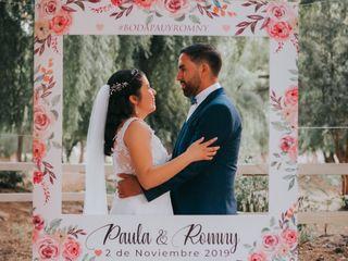 El matrimonio de Paula  y Romny 2