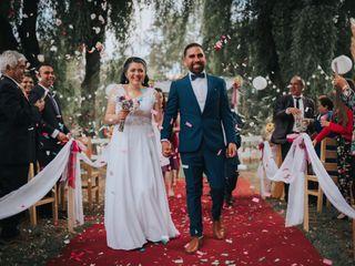 El matrimonio de Paula  y Romny