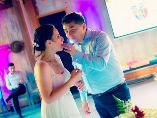 El matrimonio de Carolina y Christian