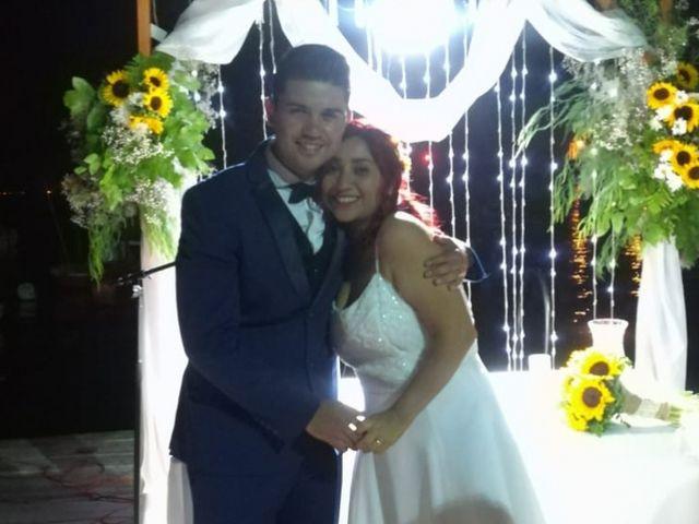 El matrimonio de Alison y Fabián