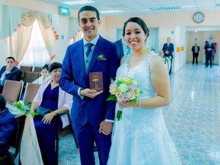 El matrimonio de Miriam y Víctor