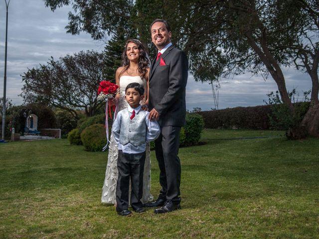 El matrimonio de Claudia Alarcón y Pablo Contreras