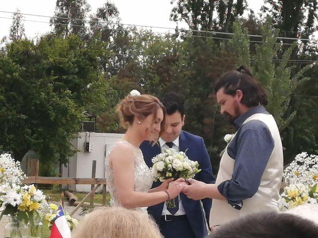 El matrimonio de Daniela y Oscar