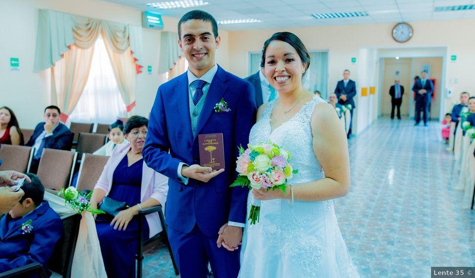 El matrimonio de Víctor y Miriam en La Serena, Elqui