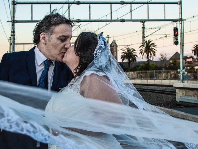 El matrimonio de Valeria  y Claudio