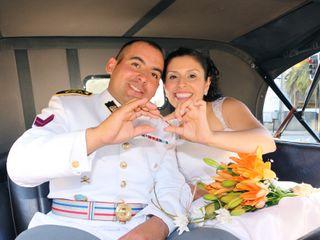El matrimonio de Elena y Cristian