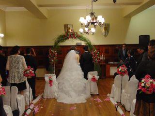 El matrimonio de Marco y Alexandra 1