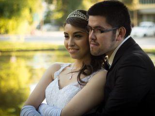 El matrimonio de Marco y Alexandra
