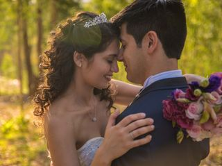 El matrimonio de Sorahya y Fernando