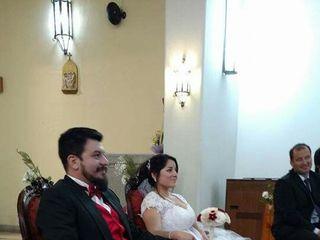 El matrimonio de Angie  y Ludwig  1