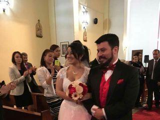 El matrimonio de Angie  y Ludwig  2