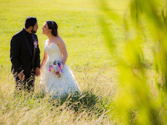 El matrimonio de Nathalie y Marcelo