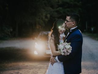El matrimonio de Marco y Stephanie
