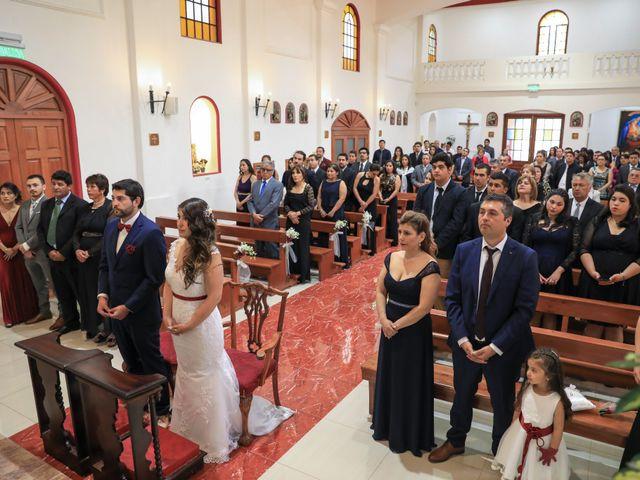 El matrimonio de Diego y Regina en Rancagua, Cachapoal 5