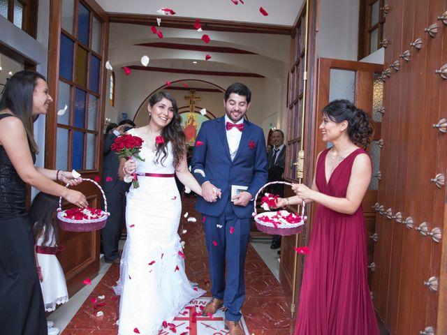 El matrimonio de Diego y Regina en Rancagua, Cachapoal 19
