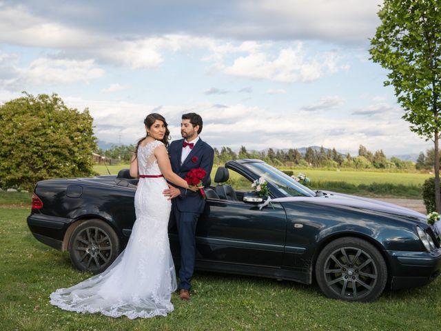 El matrimonio de Regina y Diego