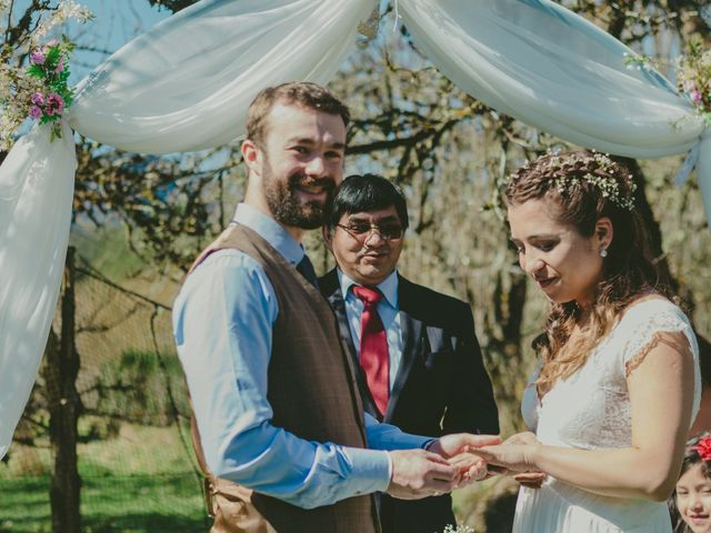 El matrimonio de Milenka y Cole