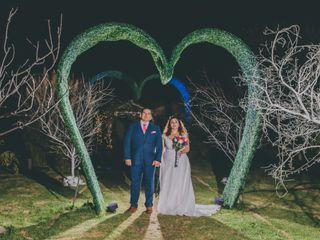 El matrimonio de Carmen Gloria y Sebastián