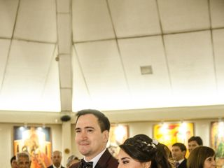 El matrimonio de Daniela y Andrés 1