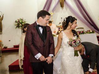 El matrimonio de Daniela y Andrés 3