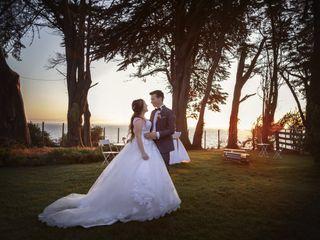 El matrimonio de Fabián y Alejandra