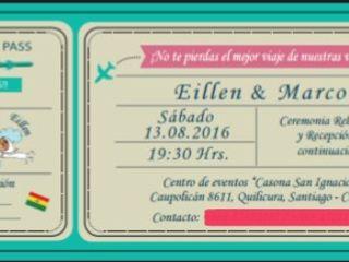 El matrimonio de Eillen  y Marco 1
