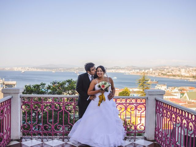 El matrimonio de Mariela y Fernando