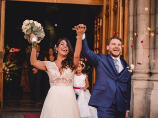 El matrimonio de Romina y Cristóbal