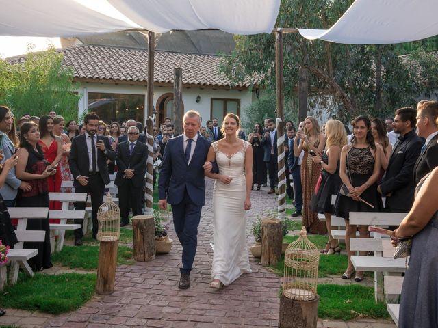 El matrimonio de Achille y Julie en Pirque, Cordillera 16