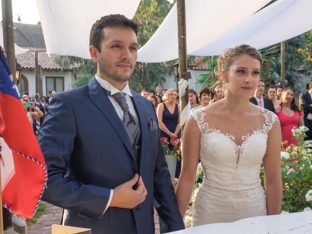 El matrimonio de Achille y Julie en Pirque, Cordillera 19