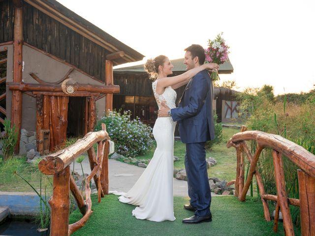 El matrimonio de Achille y Julie en Pirque, Cordillera 49