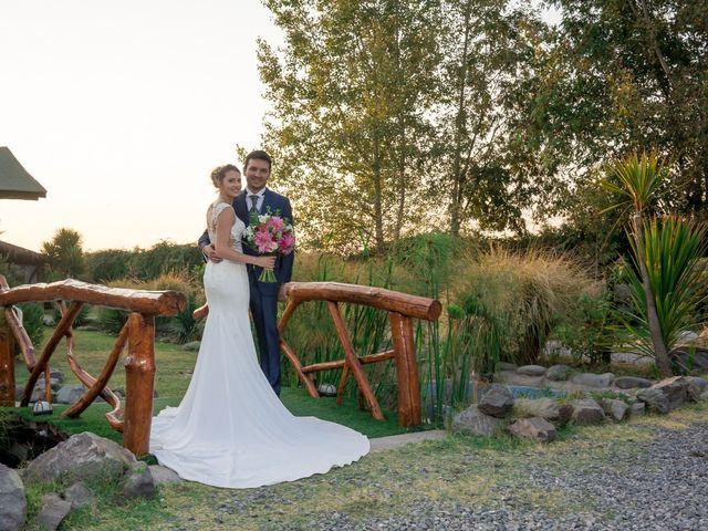 El matrimonio de Achille y Julie en Pirque, Cordillera 51