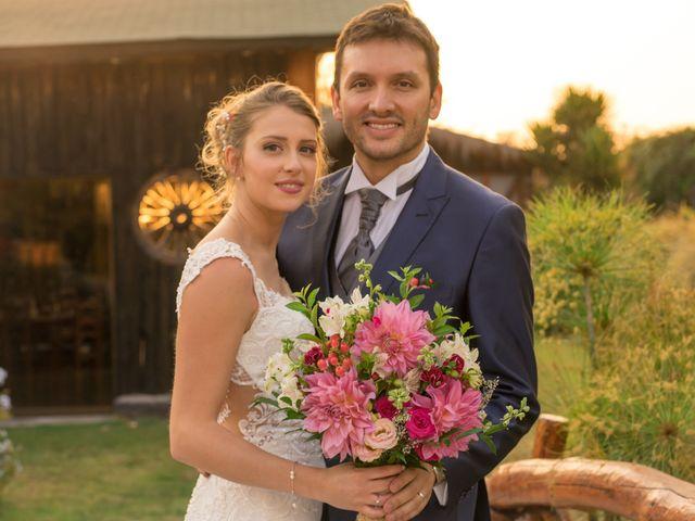 El matrimonio de Achille y Julie en Pirque, Cordillera 52