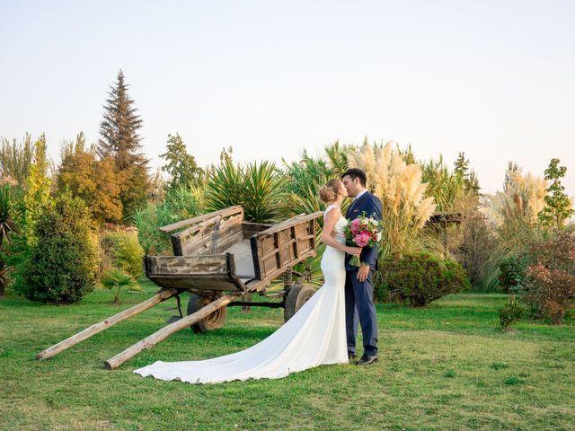 El matrimonio de Achille y Julie en Pirque, Cordillera 55