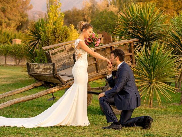 El matrimonio de Achille y Julie en Pirque, Cordillera 63
