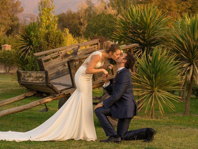 El matrimonio de Achille y Julie en Pirque, Cordillera 65