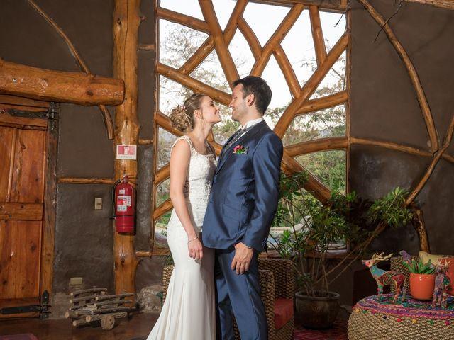 El matrimonio de Achille y Julie en Pirque, Cordillera 77
