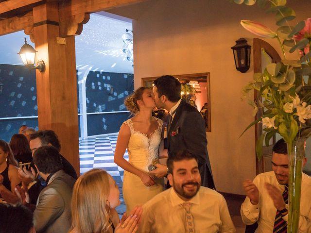 El matrimonio de Achille y Julie en Pirque, Cordillera 83