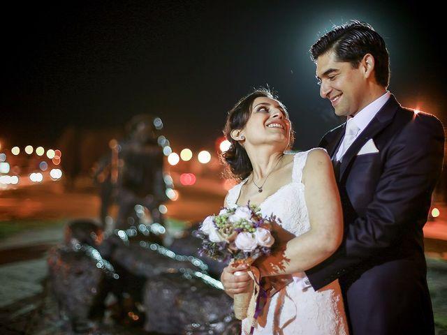 El matrimonio de Patricia y Jorge