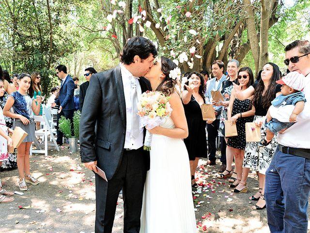 El matrimonio de Pame y Fernando