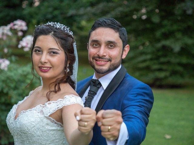 El matrimonio de Samantha y César