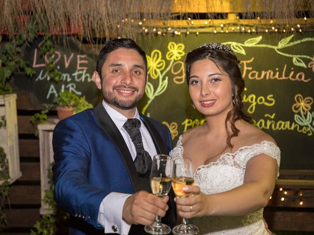 El matrimonio de César y Samantha en Paine, Maipo 25