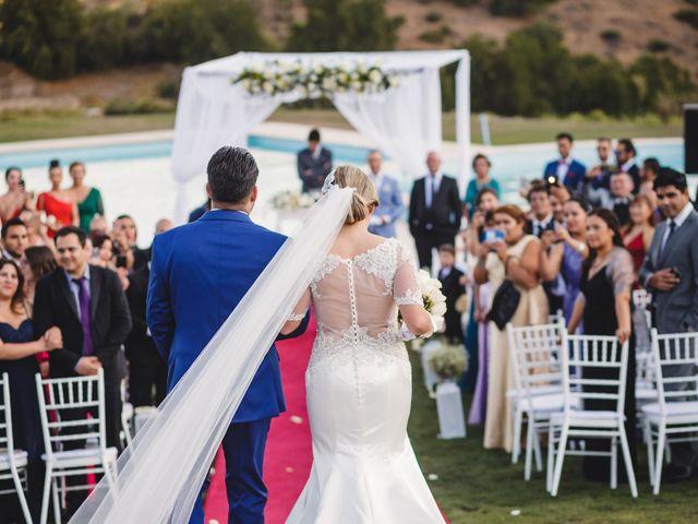 El matrimonio de Patricio y Hanna en Lo Barnechea, Santiago 9