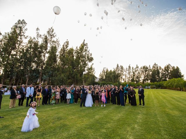 El matrimonio de Diva y Nicolás en San Vicente, Cachapoal 7