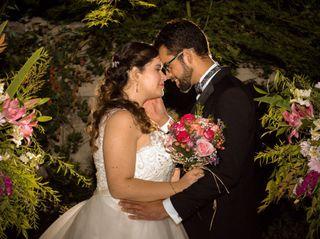 El matrimonio de Catalina y Esteban