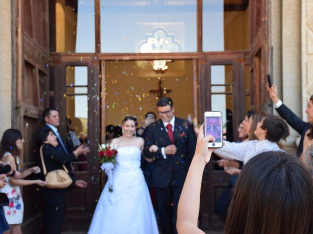 El matrimonio de Alejandro  y Alejandra  en Hualañé, Curicó 1