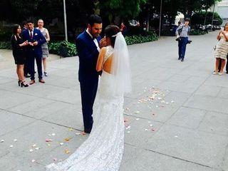 El matrimonio de Cristian y Pilar 1
